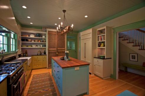 V-Groove Kitchen Ceiling