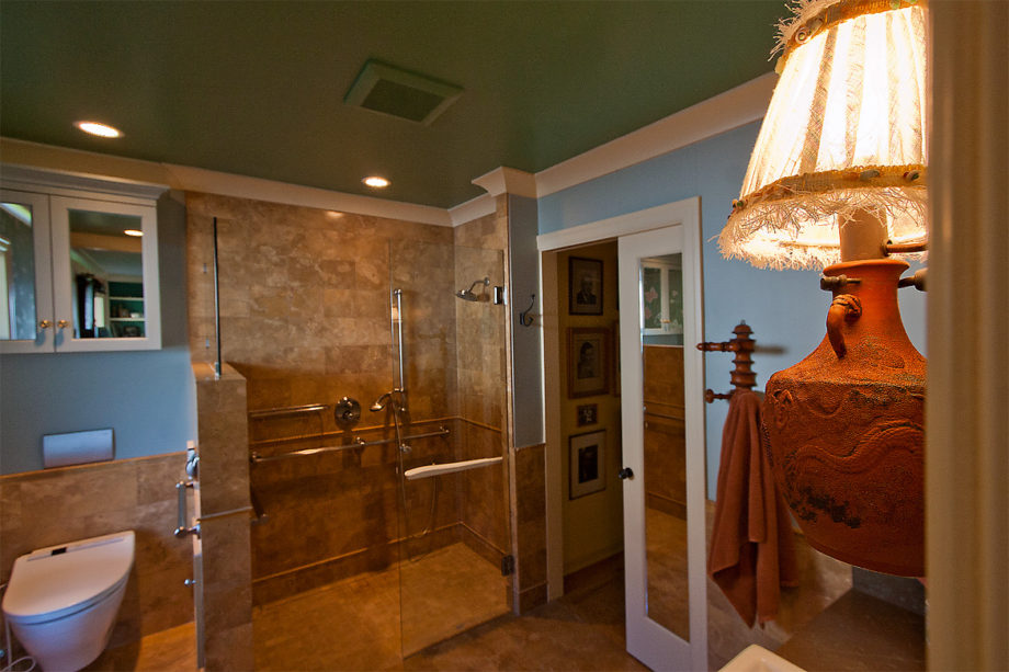 Mukilteo bathroom remodel mary hansen design for Ada compliant hallway