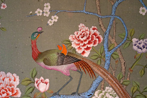 De Gournay hand painted wallpaper