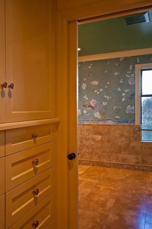Hallway custom cabinetry