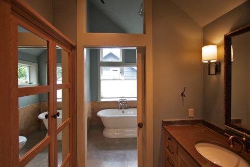 Transom Light & Pocket Door