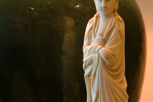 Lamp & Figurine Detail