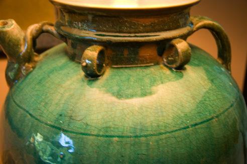 Lamp Glaze Detail