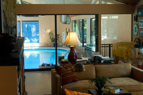 Family Room & Pool