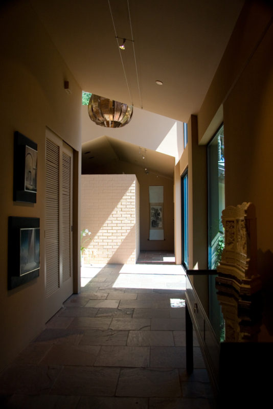 Hallway to Entry