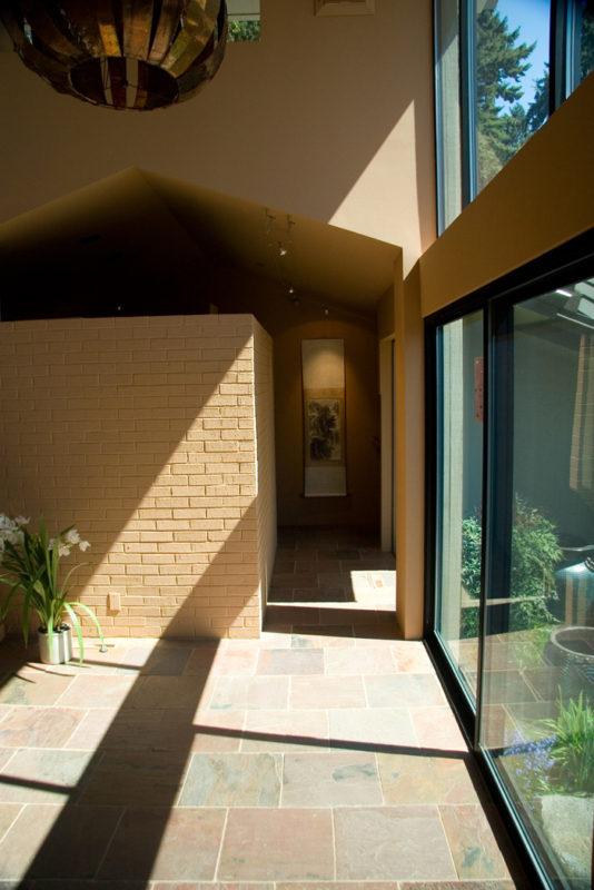 Hallway to Courtyard