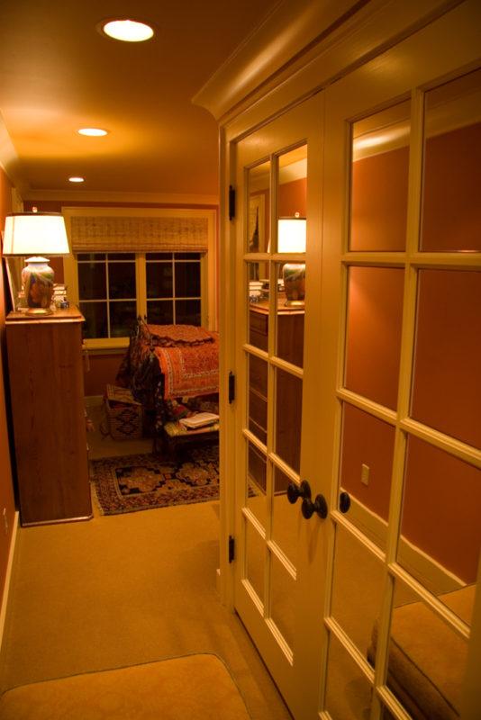 Back Hall & Mirrored Door
