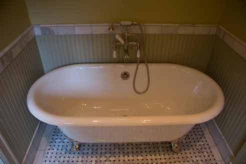 Tub & Wainscotting