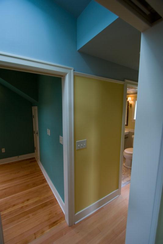 Hall Walls, Angles & Color