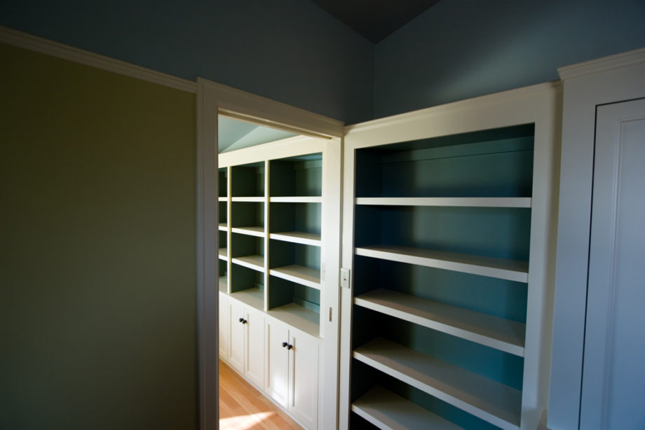 Combined Shelving