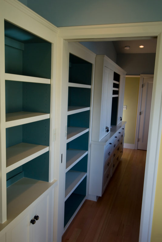 Combined Shelving Office