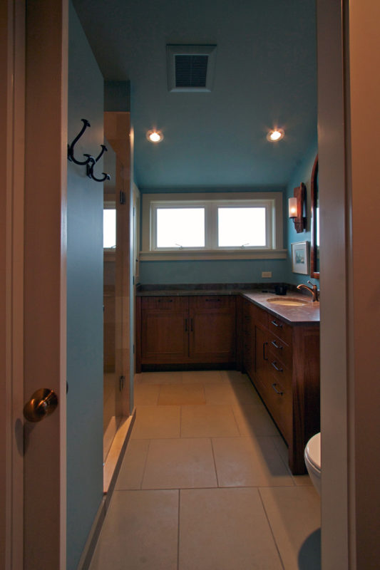 Hallway Entrance into Bathroom