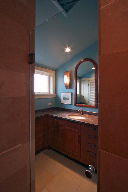 View from Shower Interior