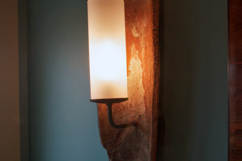 Custom Sconce Detail