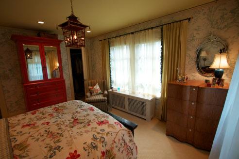 Bedroom View Toward Windows