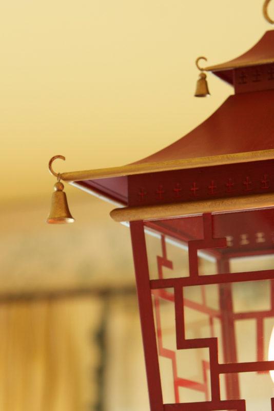 Vaughn Chinoiserie Lantern Detail